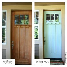 front door makeover {more pics on the blog!} http://theinspiredroom.net/2012/09/18/front-door-makeover/