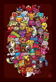 770 Koleksi Contoh Gambar Doodle Keren Nama HD Terbaik