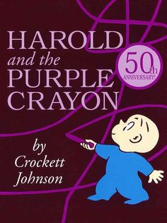 Best #Kids #Book - In this gentle yet curiously powerful adventure, little Harold — armed with nothing save a chunky purple crayon — lets his imagination run free...