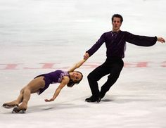 Nebelhorn Trophy 2013 -  Pairs Figure Skating / Ice Skating dress inspiration for Sk8 Gr8 Designs.