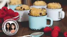 Chocolate chip cookie in a cup from Alexandra Diaz and Geneviève O'Gleman Desserts With Biscuits, No Bake Desserts, Healthy Desserts, Dessert Biscuits, Cookie Cups, Biscuit Cookies, Dessert Micro Onde, Chocolate Chip Cookies, Mug Cupcake