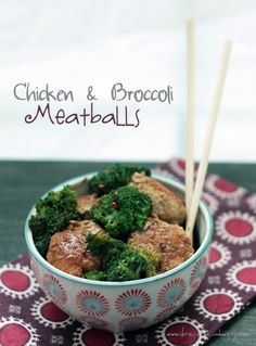 A low carb and gluten free meatball recipe inspired by the classic Chinese takeout dish Chicken and Broccoli.