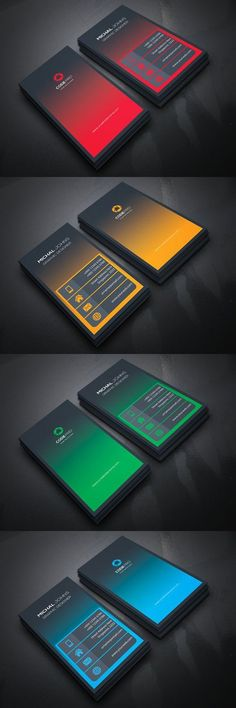 Creative Business Card. Business Card Templates #BusinessCards