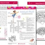 Did you know that you can find free printable activities to go with all the American Girl characters, the Girl of the Year, Innerstar U and many of the mystery books? The American Girl Publishing website has loads of free printables, learning guides a...