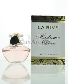 La Rive Madame in Love Fragrance notes are citruses,peony, osmanthus, rose ,fruity , base , sandalwood and patchouli. www.maxaroma.com fragrance women madame-in-love-la-rive-for-women pid 11521 5 La Rive, Peony, Perfume Bottles, Fragrance, Notes, Base, How To Make, Beauty, Report Cards