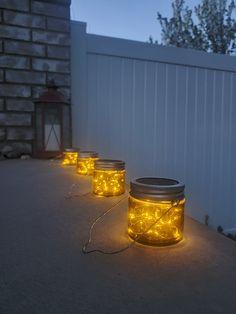 Solar Patio Lights, Solar Garden Lanterns, Solar Fairy Lights, Pergola Lighting, Outdoor Lighting, Lighting Ideas, Solar Lamp, Outdoor Fairy Lights, Wedding Lighting