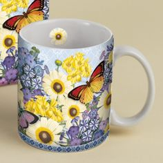 Botanical Gardens Coffee Mug - Let the Botanical Gardens Coffee Mug bring the enchanting beauty of nature to your morning cup of joe. Gift box included to make the perfect gift for all occasions.