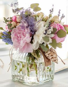 Floral centerpieces, memorial flowers, floral bouquets, provence wedding, f Deco Floral, Arte Floral, Vase Arrangements, Floral Centerpieces, Fresh Flowers, Beautiful Flowers, Container Flowers, Flower Boxes, Floral Bouquets