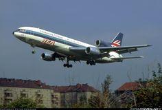 Lockheed (BEA - British European Airways) Lockheed L-1011-385-1 TriStar 1  N305EA (cn 193A-1006) BEA / Eastern Demonstrator at  Berlin - Tempelhof (THF / EDDI) Germany, September 16, 1972.