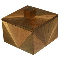 Straw Marquetry Box - Attributed to  Jean-Michel Frank