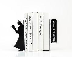 Serre-livres LIVRAISON GRATUITE lire par DesignAtelierArticle