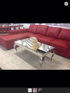 Mirrored coffee table, add reflective surfaces?