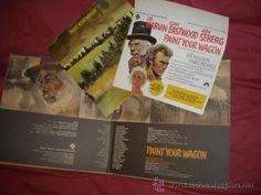 paint your wagon-la leyenda de la ciudad sin nombre originaL LP COM LIBRETO Y POSTER PEQUEÑO - Foto 1