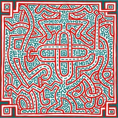 Keith Haring - Untitled (1989).