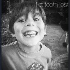 1st tooth lost 😄 #toothfairy #toothless #happy #family #love #lovely…
