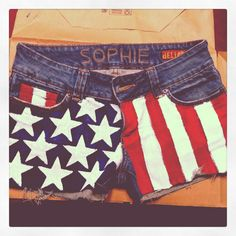 These are some killer patriot shorts for the Fourth of July!