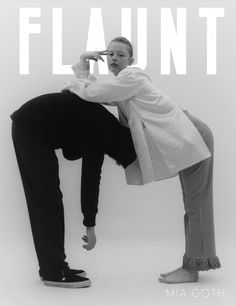 Mia Goth by Jesse John Jenkins for Flaunt The Element Issue