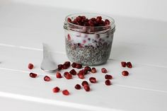 Grundrezept für ein Powerfrühstück: Chia-Pudding | Projekt: Gesund leben | Blog über Ernährung, Bewegung und Entspannung