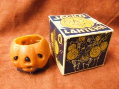 The site for the serious collector of vintage Halloween memorabilia collectibles. Holiday Candles, Halloween Candles, Skeleton Dance, Witches Cauldron, Autumn Lights, Halloween Season, Vintage Halloween, Fall Decor, Decorative Boxes