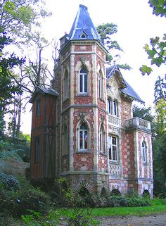 Chateau d'if, writing studio of Alexandre Dumas on the grounds of his estate in France