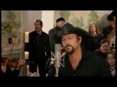Tim McGraw---My Little Girl. I miss my little girl so much.