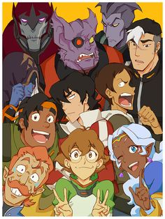 "- Inspired by Voltron: Legendary Defender - Fine Art Giclee Print - Limited Edition of 50 - Approximately 18"" x 24"" * DreamWorks Animation Artist * DreamWorks Voltron Legendary Defender © 2016 DreamWo"