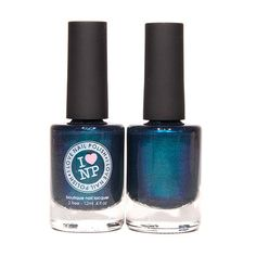 Northern Lights  Blue Duochrome Nail Polish by ILoveNP on Etsy, $10.00