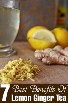 7 Best Benefits Of Lemon Ginger Tea For Skin, Hair And Health - Lemon ginger tea not just sounds deliciously soothing but also has many benefits for the skin, hair and health, In this article, we list all of the ...