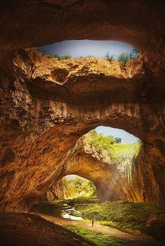 Devvetashka Cave, Bulgaria  photo via besttravelphotos