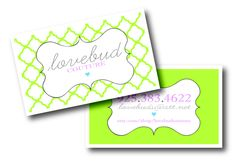 More business cards! :)