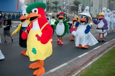 Penguins - UAE #mascot #costume #characters #penguins #UAE