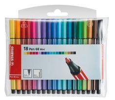 STABILO Pen 68 Mini Feutre Emballage transparent 18 pièces Stabilo http://www.amazon.fr/dp/B003HERK4A/ref=cm_sw_r_pi_dp_w442tb1VN8WZZN5W
