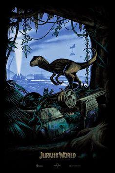 Alternative Jurassic World poster