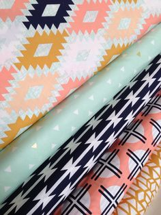 Arizona Limited Edition fabric bundle by April Rhodes for Art Gallery Fabrics- Bundle of 5, You Choose the Cut. Free Shipping Available by fabricshoppe on Etsy