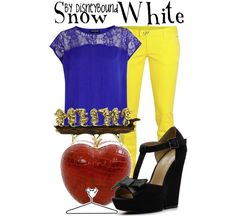 disneybound disney movie inspired fashion outfits snow white pic on Design You Trust