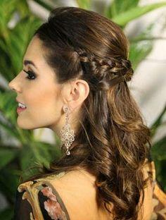 penteados para cabelos médios para formatura