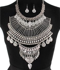 PWB0431 - Tribal warrior necklace - $52.99 : Shop Trendy Jewelry and Accessories, Peeny Wallie Boutique