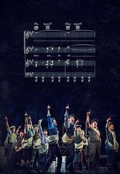 Newsies-- Moment of appreciation for the top harmony guys That's my highest note and I'm a (female) soprano