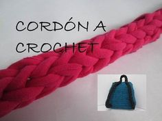 Cordón a Crochet / Ganchillo TRAPILLO - Paso a paso - YouTube