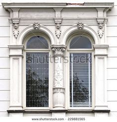 Find Architecture Windows Ancient Renaissance Style Classical stock images in HD and millions of other royalty-free stock photos, illustrations and vectors in the Shutterstock collection. Thousands of new, high-quality pictures added every day. Architecture Classique, Classic Architecture, Beautiful Architecture, Architecture Details, Ancient Architecture, Architecture Windows, Neoclassical Architecture, Facade Design, Exterior Design
