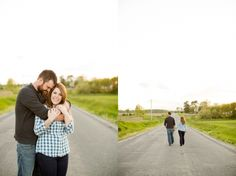 country engagement photos in Greenfield, Illinois // Jessica Lauren Photography