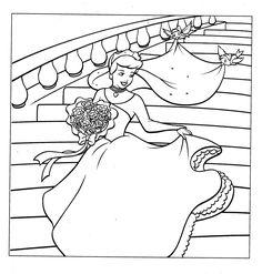 Coloring Pages Cinderella