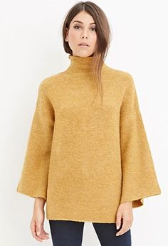 Fuzzy Turtleneck Sweater   Forever 21   #foreveyou