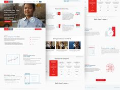 This is a landing page I designed. See the live site. It has some nice animations and transitions + it's responsive.  Made with some really great people at the Economist.   ---- You can follow me o...