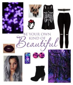 Be Your Own Kind Of Beautiful by houseofvavavoom on Polyvore featuring polyvore fashion style New Look Casetify Alexander McQueen clothing