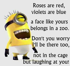 Minion live poem
