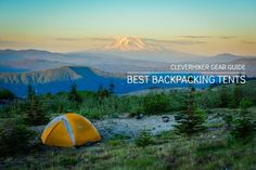 Expert recommendations on the best lightweight backpacking tents for  wilderness adventures, including short backcountry trips, long-distance  trekking, and thru-hiking the AT, PCT, & CDT.