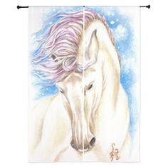 Magical Andalusian Horse Curtains