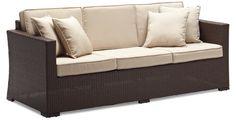 Wicker sofa @ wallyswarehouse.com