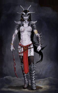 witch elf by wogule on DeviantArt